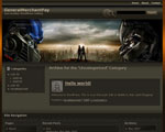 View demo of Transformers Wordpress Theme