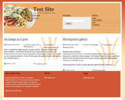 Diet 2 WordPress theme