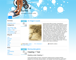 Diet Funky WordPress theme
