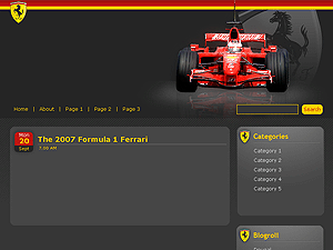 View Ferrari Theme Theme Demo